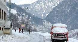 Rain, snowfall forecast in KP