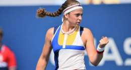 Tennis: Kontaveit ousts seventh seed Ostapenko from Open