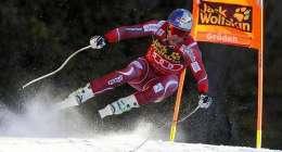 Alpine skiing: Svindal conquers Kitzbuehel demons with super-G win