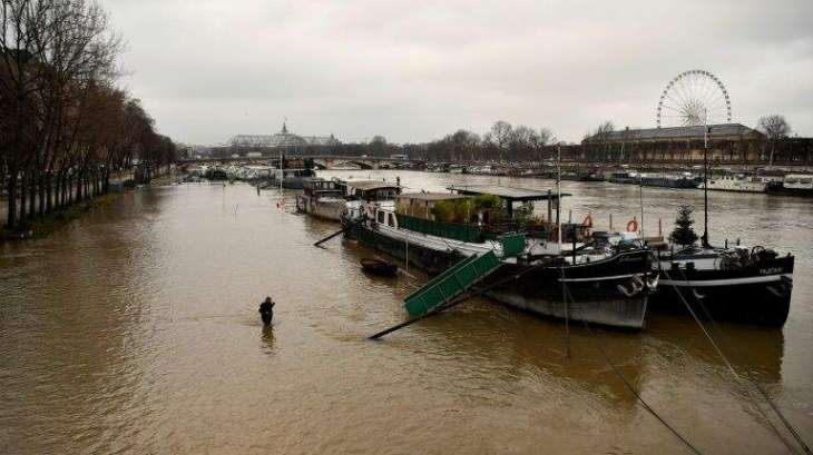 Record rain across sodden France keeps Seine rising